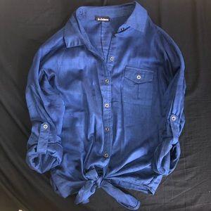 LeChateau light button up shirt